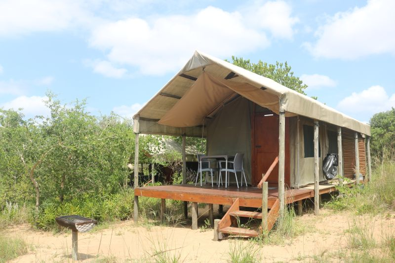 Utshwayelo Kosi Mouth Lodge and Camp Turtle Tents