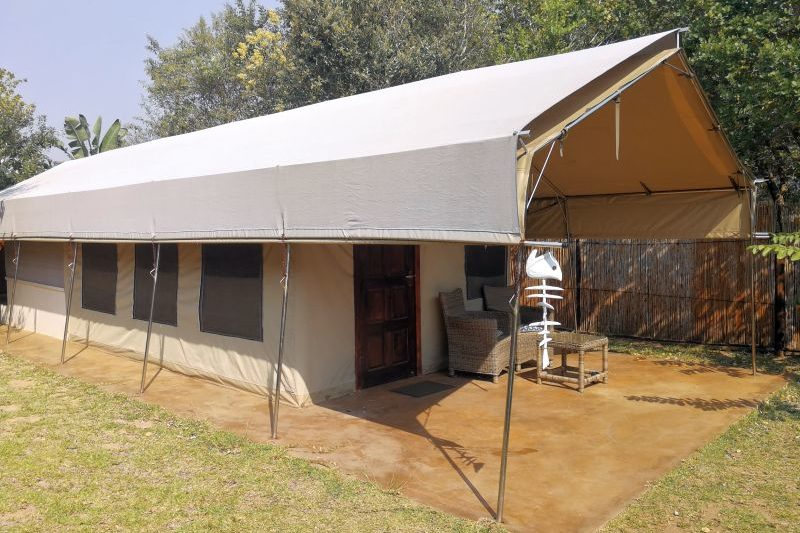 View of Tusker Suite, Kosi Bay luxury tent accommodation
