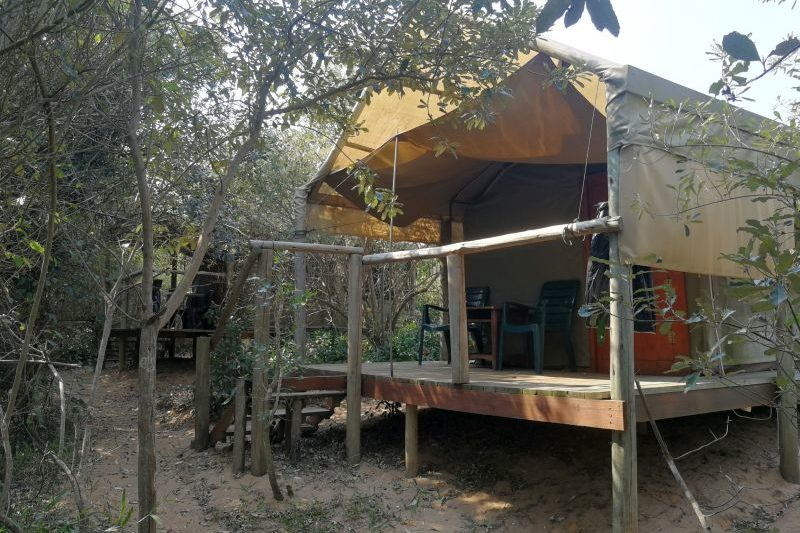 Tented Accommodation at Kosi Bay Mouth