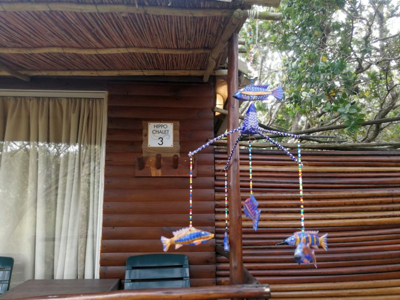 En-suite chalets which sleep two at Utshwayelo Lodge & Camp