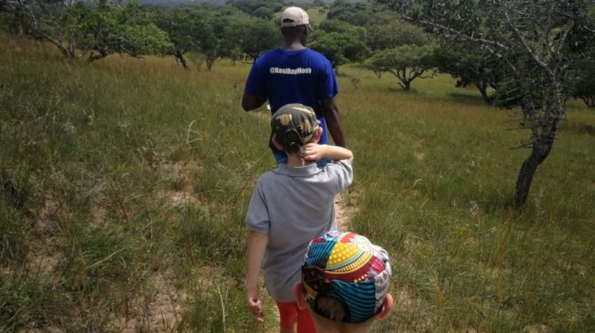 Custom hiking trails for the whole family around Kosi Bay