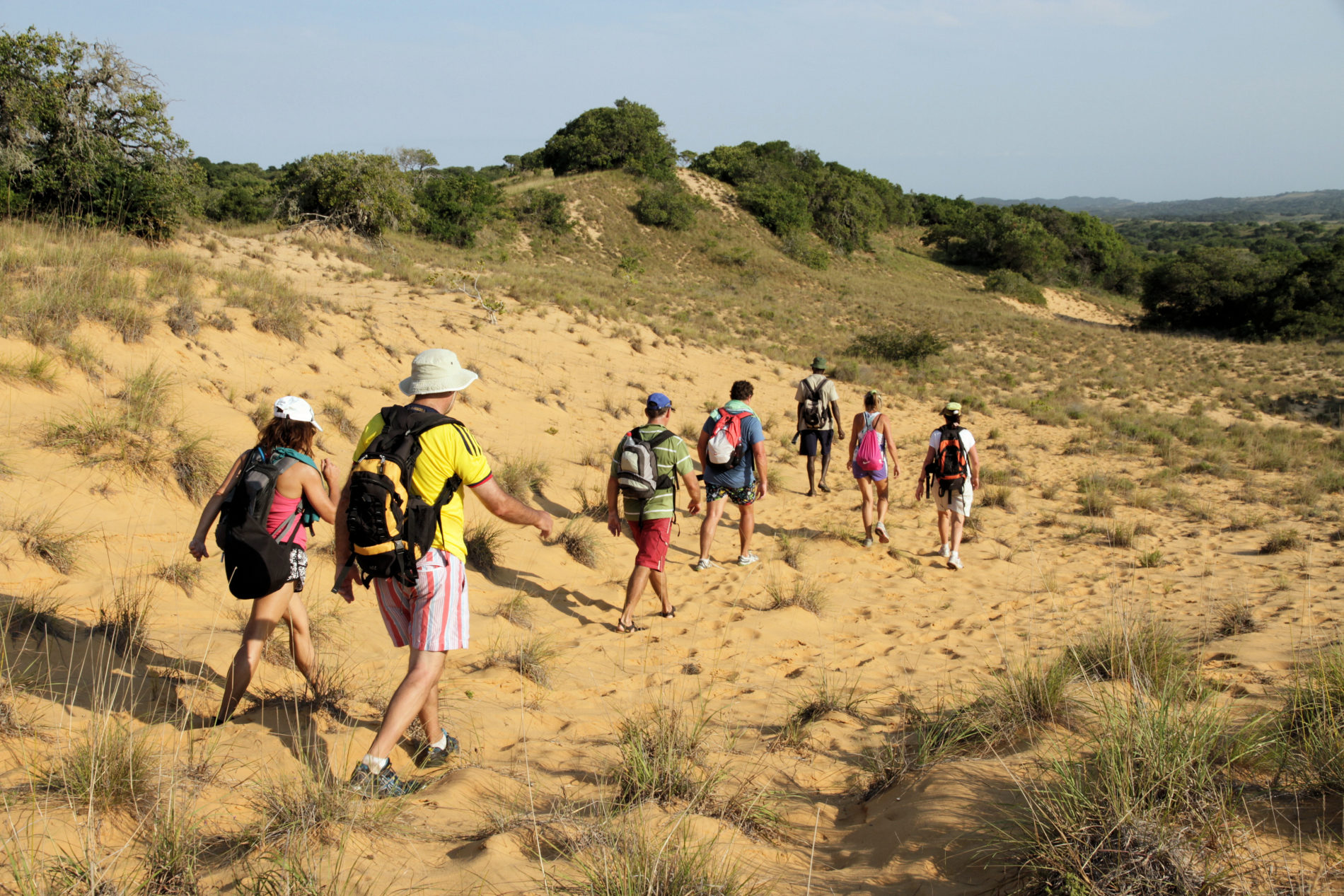 Guided hikes in Kosi Bay Mouth area, Utshwayelo Lodge & Camp
