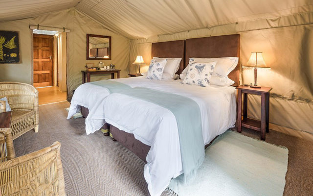 Kosi Mouth Tusker Suite luxury tented unit