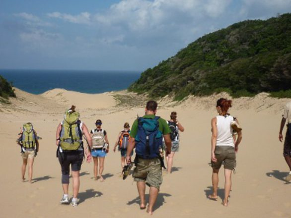 Kosi Bay activities - Hiking at Utshwayelo Lodge & Camp