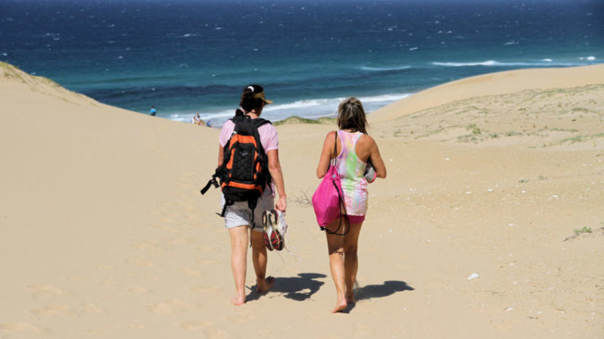 Beach walks and hikes, Kosi Bay