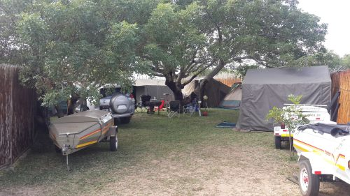 Kosi Bay Mouth Camp sites, Utshwayelo Lodge