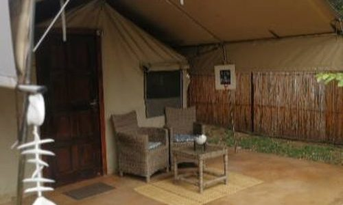 Tusker Suite, luxury tented camp at Utshwayelo Lodge