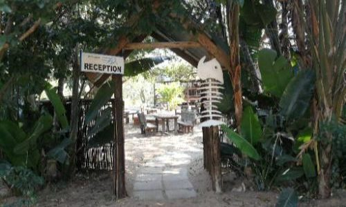 Utshwayelo Kosi Bay Mouth Lodge & Camp Entrance