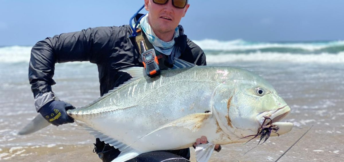 Jack Lotter 100 GT at Kosi Bay Mouth